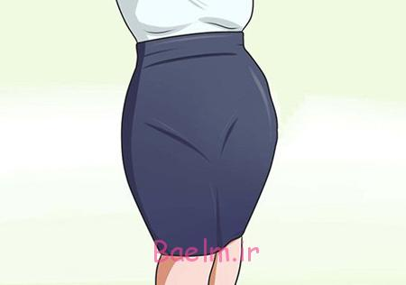 ست کردن لباس خانم های شکم بزرگ,نحوه پوشش لباس خانم های چاق