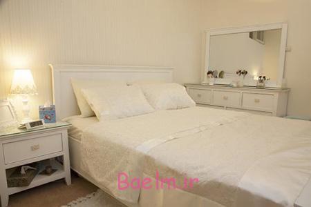 انتخاب رنگ اتاق خواب,رنگ فضای اتاق خواب