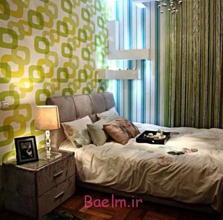 انتخاب بهترین رنگ برای اتاق خواب,رنگ دکوراسیون اتاق خواب