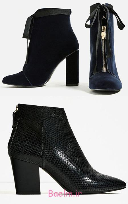 مدل نیم بوت زنانه, شیک ترین کفش های پاییزی زنانه