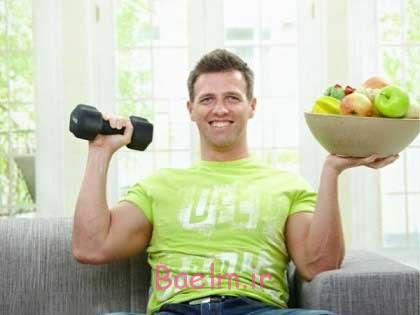 نوع تغذیه بعد از ورزش