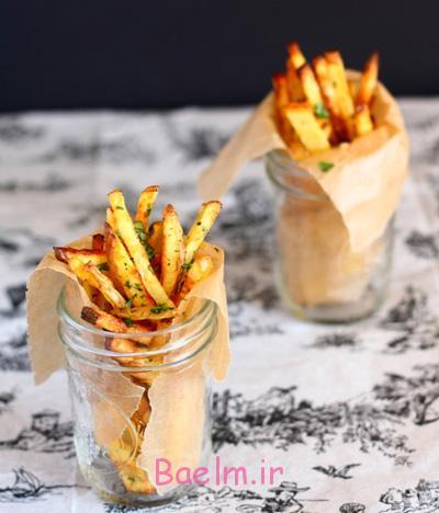 پخت سیب زمینی رژیمی, طرز تهیه سیب زمینی رژیمی به سبک فرانسوی ها
