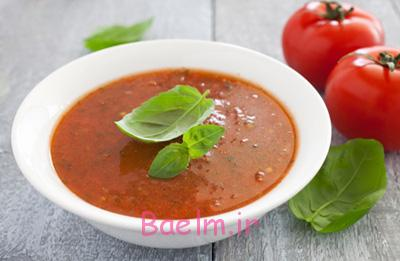 درست کردن سوپ گوجه فرنگی و ریحان,طرز پخت سوپ گوجه فرنگی و ریحان