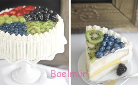 تزیین کیک با میوه, تصاویر تزیین کیک با میوه