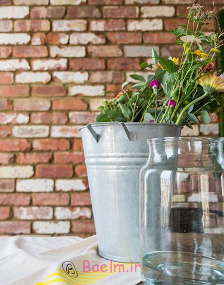 آموزش تزیین دسته گل, تزیین دسته گل در خانه