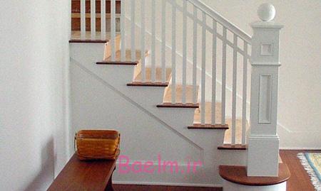 دکوراسیون نرده های چوبی, دکوراسیون و طراحی نرده های چوبی راه پله