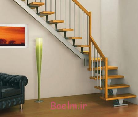 راه پله های خانه های دوبلکس, طراحی نرده های راه پله