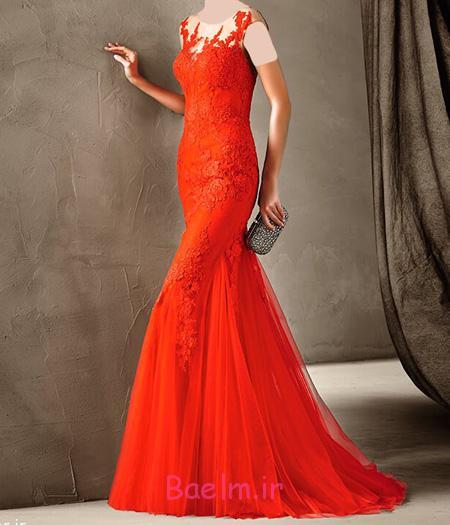 مدل لباس شب قرمز, شیک ترین لباس مجلسی قرمز