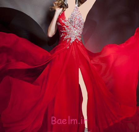 جدیدترین مدل لباس مجلسی قرمز, مدل لباس مجلسی قرمز