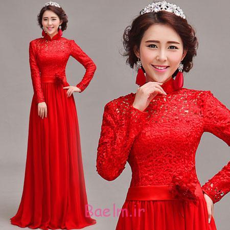 لباس مجلسی بلند قرمز, مدل لباس شب قرمز