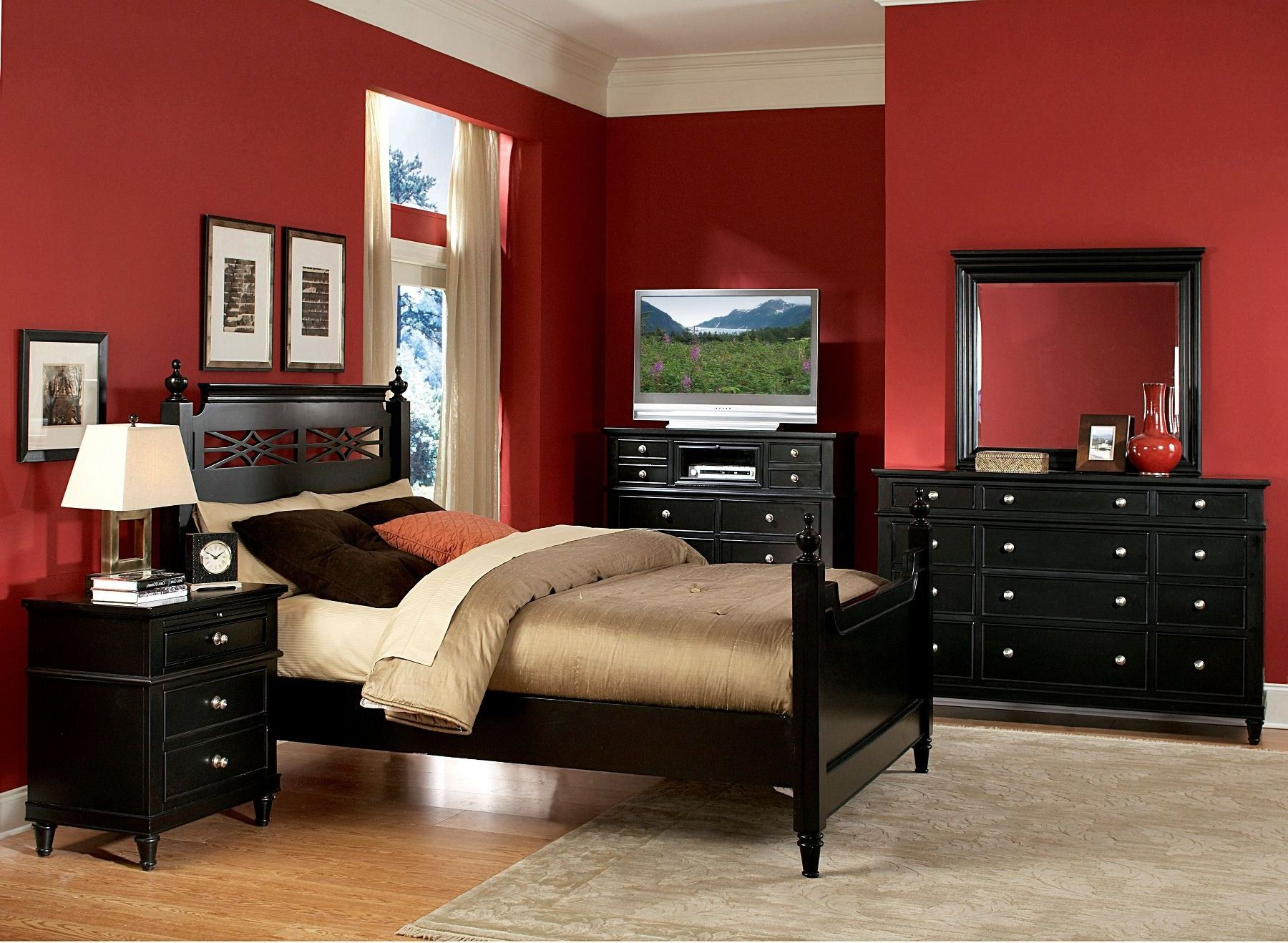 creative-red-black-and-cream-bedroom-designs-77-remodel-inspirational-home-decorating-with-red-black-and-cream-bedroom-designs