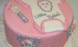 """مدل کیک تولد دخترانه   شیک ترین مدل تزیین کیک """"تولد نوزاد دختر"""" سری ۲"""