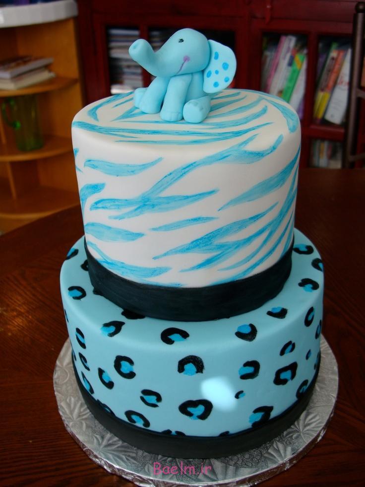 """""""مدل کیک تولد پسرانه""""   شیک ترین مدل کیک برای """"تولد نوزاد پسر"""""""