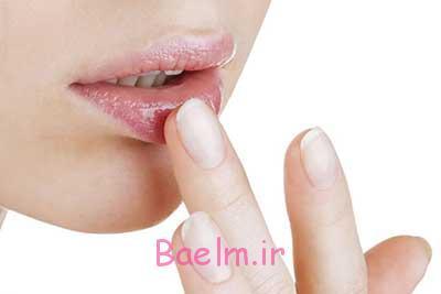 درمان خشکی لب