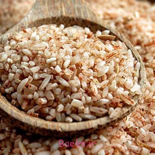 برنج قهوه ای و تاثیر آن بر کاهش وزن و لاغری