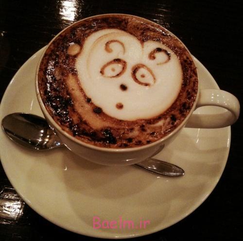 تزیین قهوه ترک و قهوه اسپرسو | تزیین نسکافه | طراحی بسیار شیک قهوه
