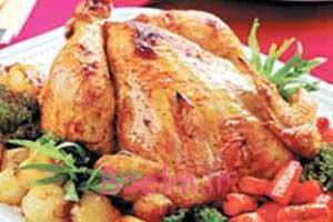 مرغ طرز تهیه بریانی مرغ هندی