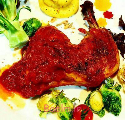 طرز تهیه مرغ پنجابی,نحوه پخت مرغ پنجابی ، مرغ پنجابی غذای هندی