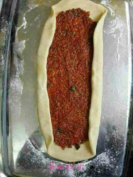 پخت غذاهای خمیری,درست کردن پیده گوشت