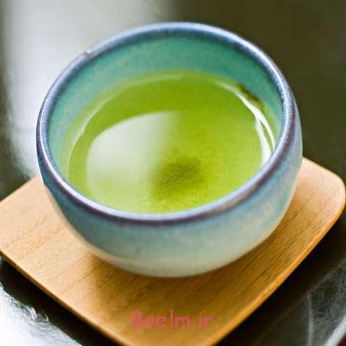 چای سبز و تاثیر آن در احساس سیر و کاهش اشتها - لاغری و کاهش وزن