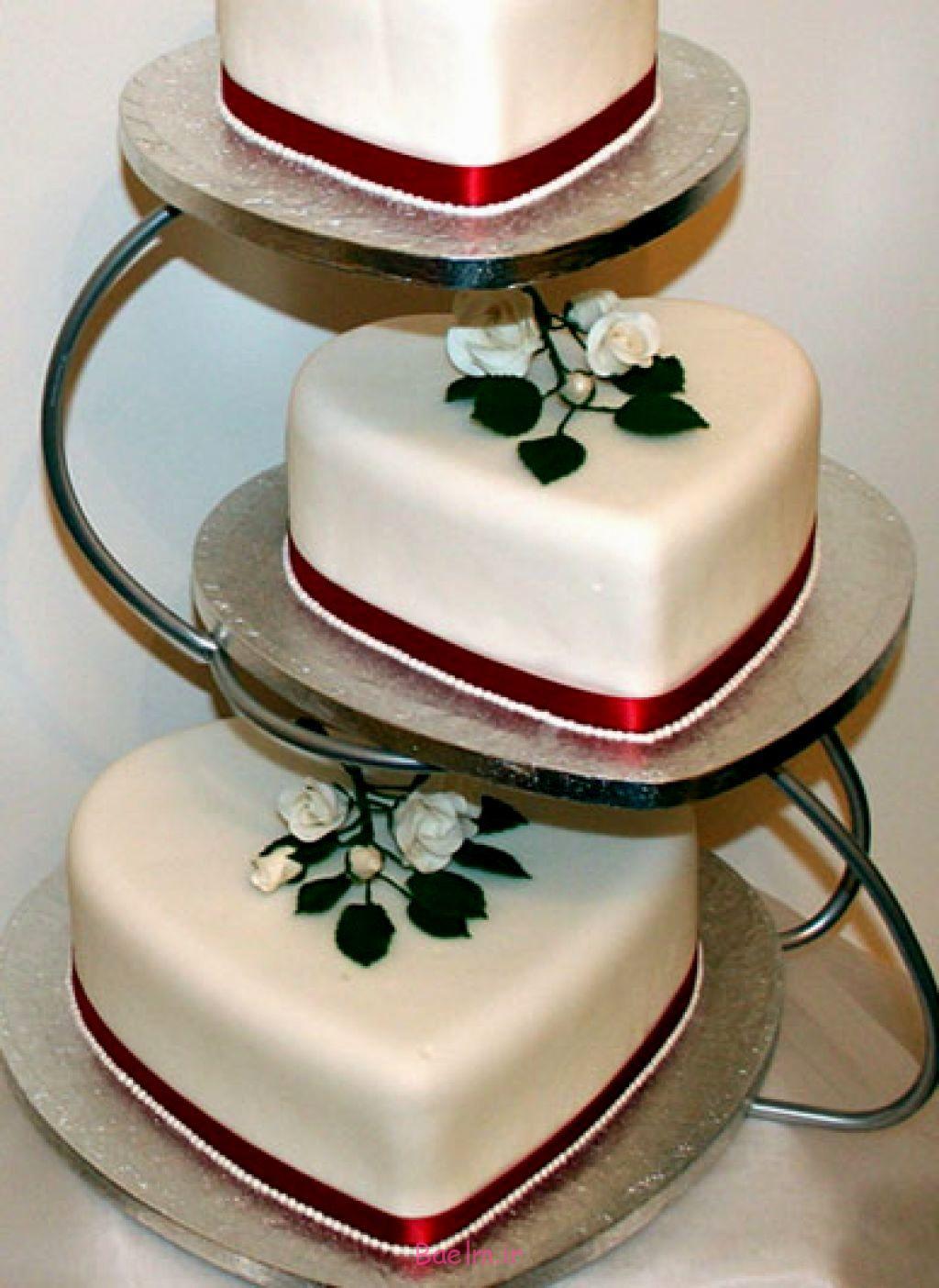شیک ترین تزیینات کیک عروسی