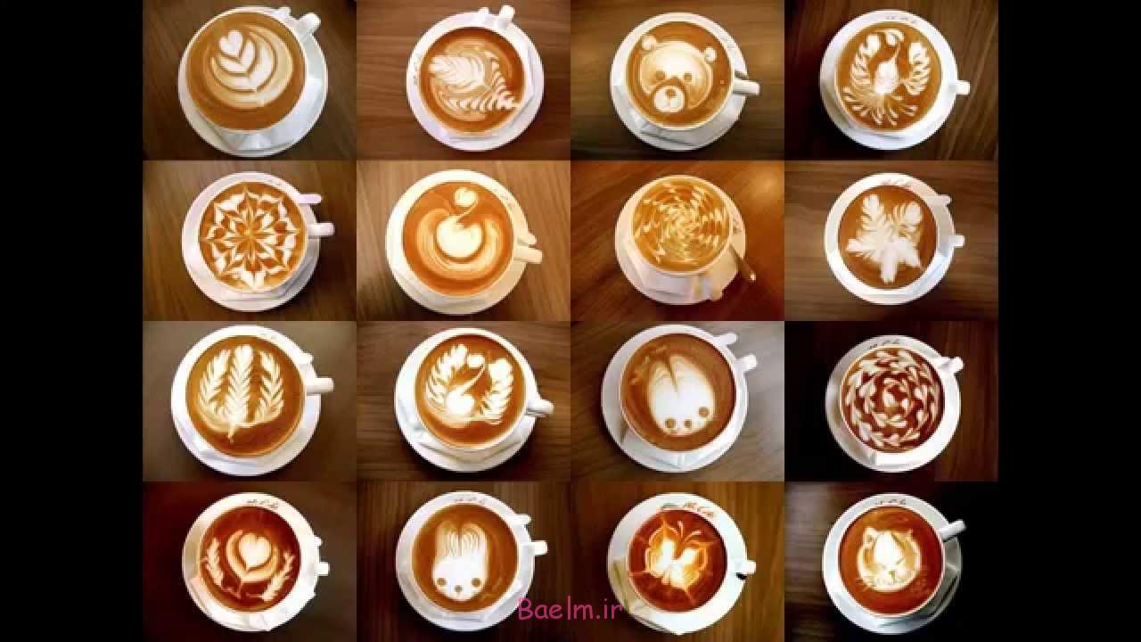 طراحی و تزیین قهوه اسپرسو