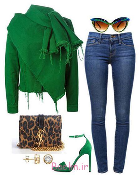 ست های لباس به رنگ سال, ست های سبز لباس