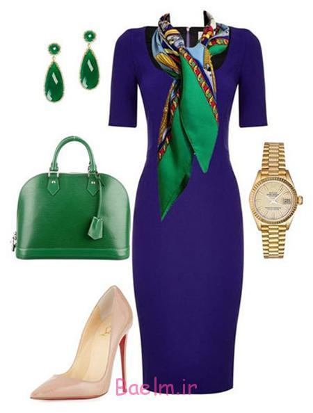 ست کردن لباس به رنگ سبز, ست های لباس سبز