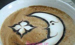 تزیین قهوه ترک و قهوه اسپرسو   تزیین نسکافه   طراحی بسیار شیک قهوه