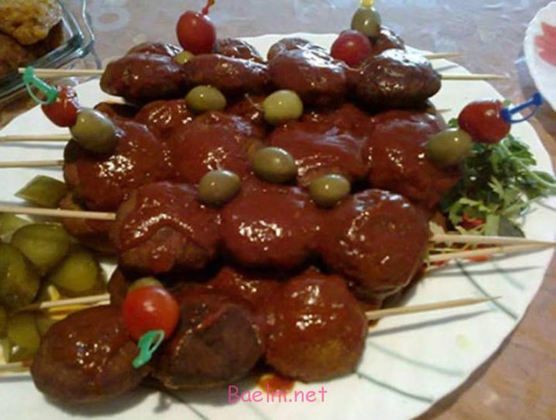 شامی با سس انار ، طرز پخت شامی با سس انار