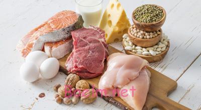 مصرف ناکافی پروتئین, رژیم غذایی کم پروتئین