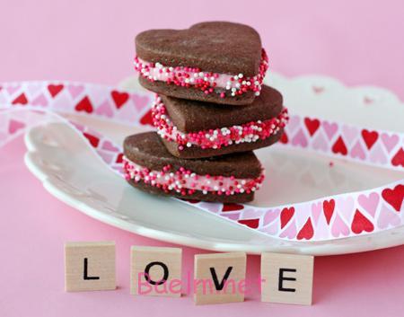 تزیین کوکی روز عشق, شیرینی های روز عشق