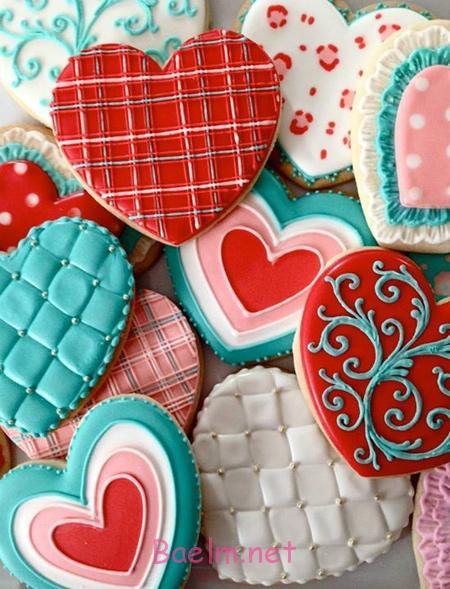 کوکی روز روز عشق, تزیین کوکی برای روز عشق