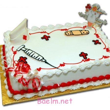 مدل کیک روز پرستار, کیک تبریک روز پرستار