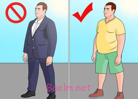 نحوه لباس پوشیدن آقایان چاق ,لباس پوشیدن آقایان چاق