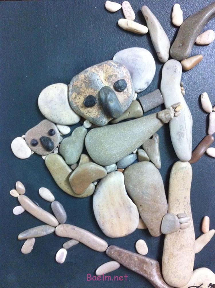 تصاویر هنرنمایی دیدنی با سنگ ، مجسمه سازی و هنرنمایی با سنگ