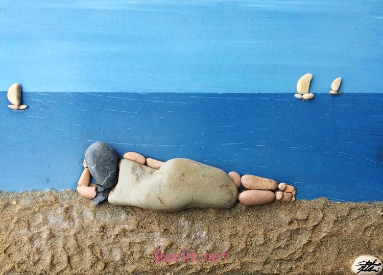 """مجسمه سازی و هنرنمایی با سنگ   عکسهای بسیار جالب و دیدنی """"حتما ببینید"""""""