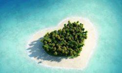 قلب های دیدنی و جذاب در طبیعت   منظره های طبیعی و دیدنی به شکل قلب بسیار زیبا
