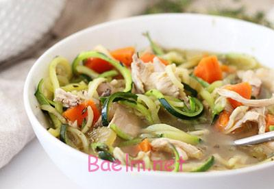 پخت سوپ رژیمی با مرغ و کدو,طرز تهیه سوپ های رژیمی