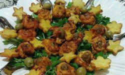 رول مرغ با سبزیجات | رول مرغ | انواع غذا با سبزیجات | انواع غذا با مرغ