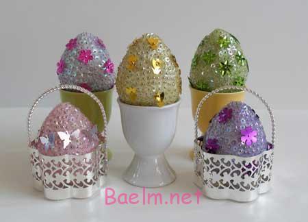 مدل های تزیین تخم مرغ های سفره عقد, نمونه هایی از تزیین تخم مرغ های سفره عقد