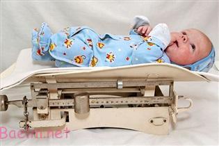 نتیجه تصویری برای وزن گیری کودک