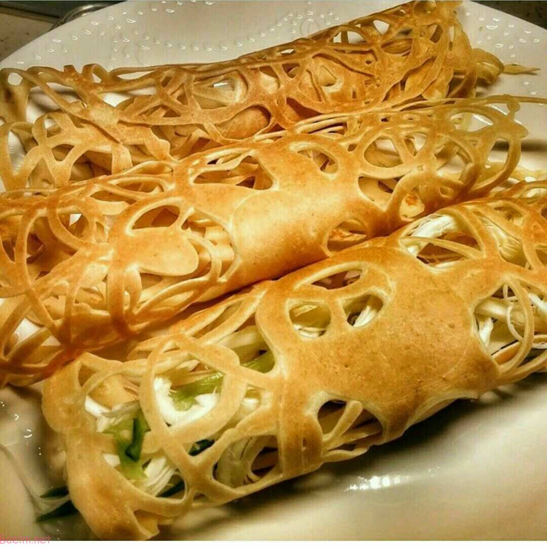 مواد لازم برای نان گیپور تابه ای : برای ۵ نفر