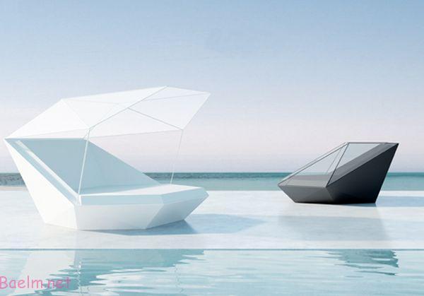 مبلمان بسیار شیک و مدرن مخصوص خانه های ویلایی و لب دریا