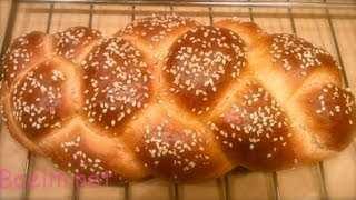 آموزش طرز تهیه نان گیسو در خانه