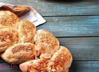آموزش طرز تهیه نان دست پیـچ در خانه