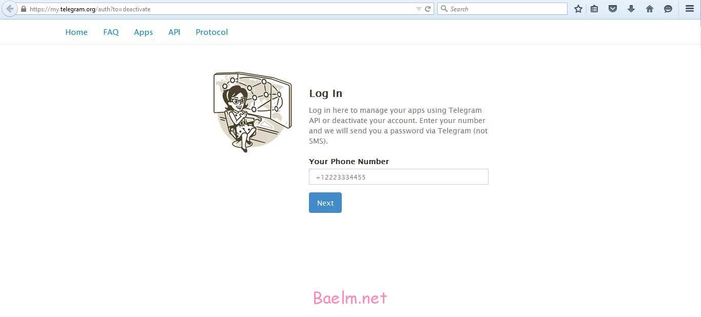 آموزش دیلیت اکانت تلگرام ( حذف کامل اکانت تلگرام )