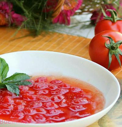 مربای گوجه فرنگی , طرز تهیه مربا گوجه مینیاتوری