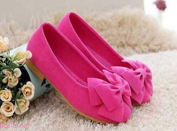 مدل های کفش دخترانه بچه گانه - سری اول - شیک و مجلسی • مد آرایش و ...کفش دخترانه – بچه گانه – رنگ صوری سیر ...