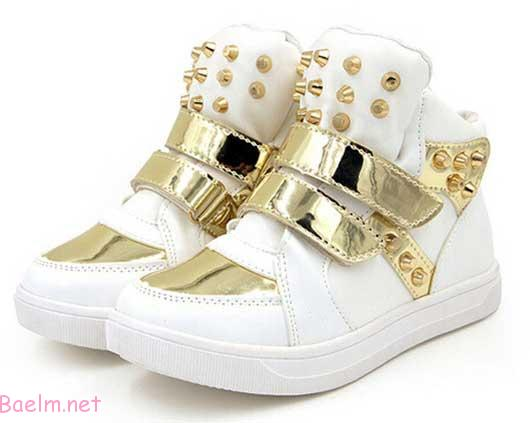 مدل های کفش دخترانه بچه گانه - سری اول - شیک و مجلسی • مد آرایش و ...کفش اسپورت دخترانه بچه گانه – بالای هفت سال – سفید